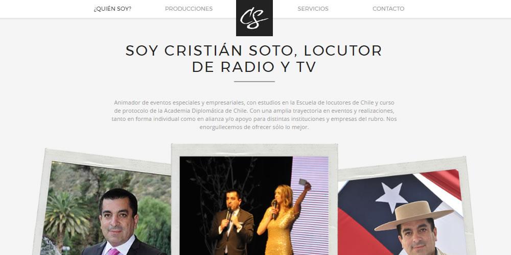 Cristián Soto Locutor