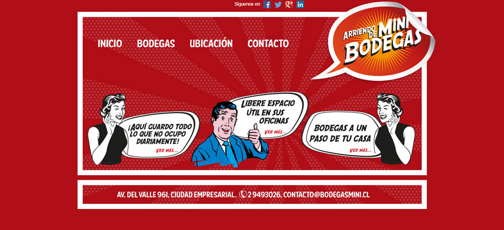 Sitio Web Mini Bodegas