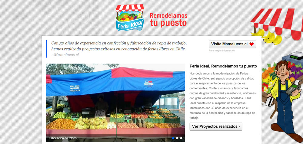 Sitio Web Feria Ideal